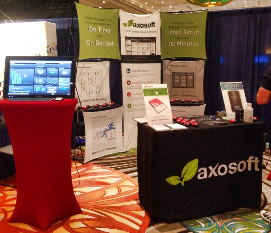 Axosoft booth