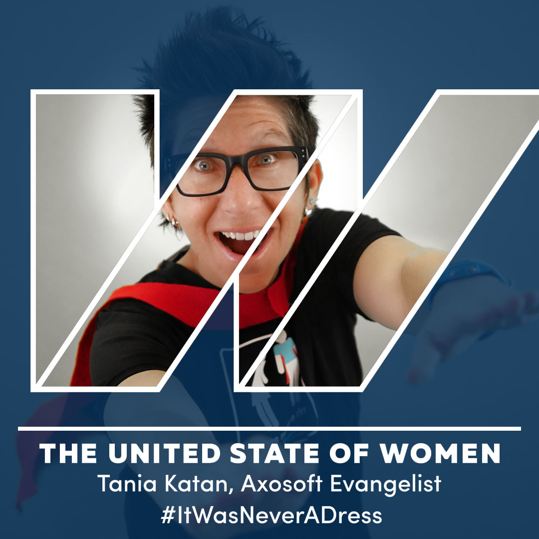 Tania Katan and the United States of Women logo